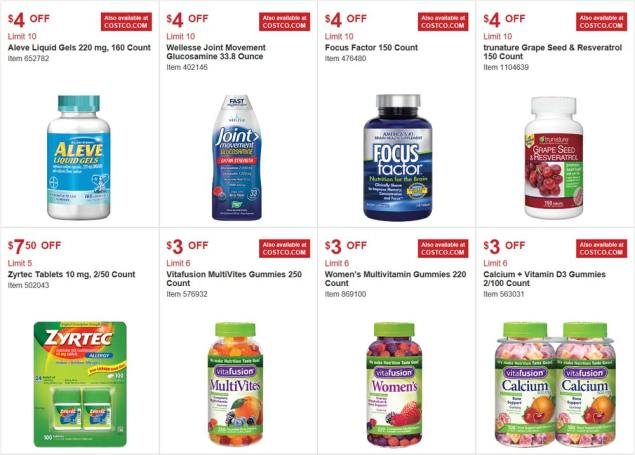 Costco August 2017 Coupon Book Page 16