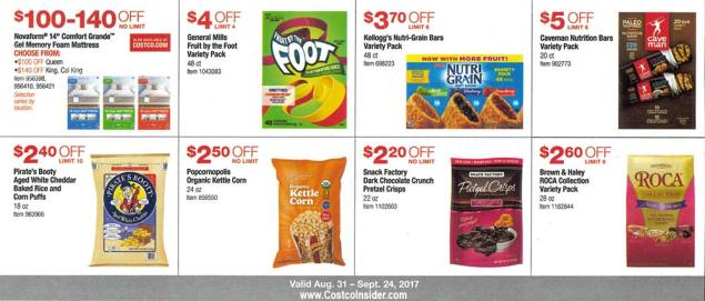 Costco September 2017 Coupon Book Page 11