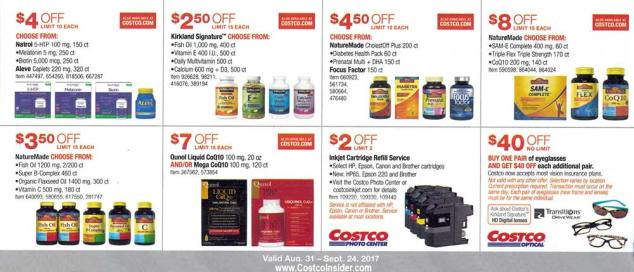 Costco September 2017 Coupon Book Page 18