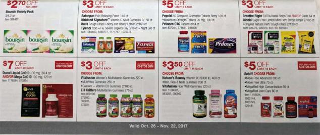 Costco November 2017 Coupon Book Page 14