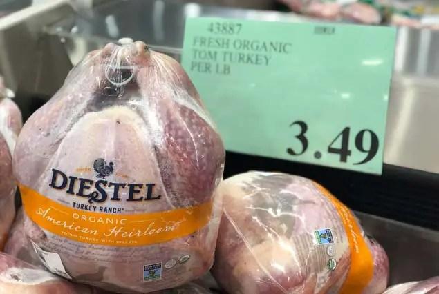 Costco Diestel Fresh Organic Tom Turkey