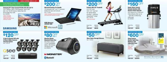 Costco Black Friday ad scan Week 2 Page 12
