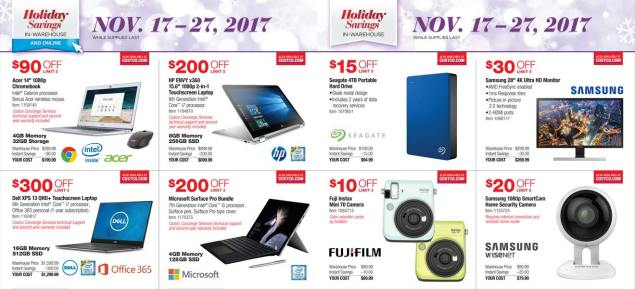 Costco Black Friday ad scan Week 2 Page 9