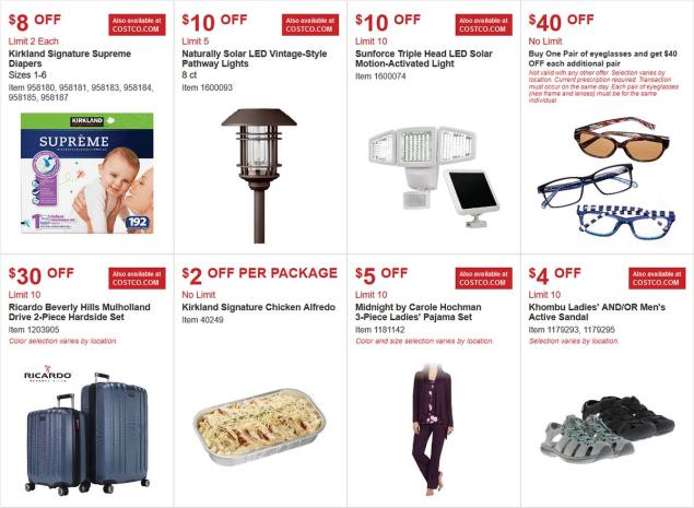 Costco Coupon March 2018 Page 1