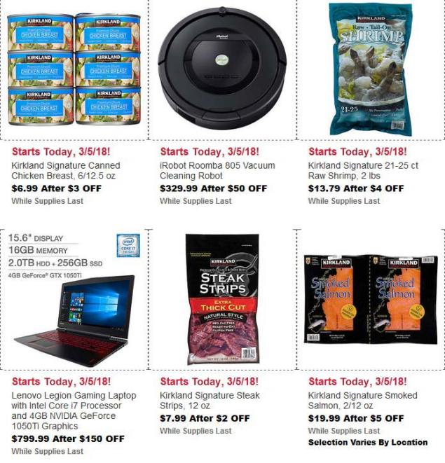 Costco March Hot Buys Page 1