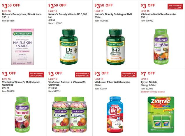 Costco Coupon March 2018 Page 17