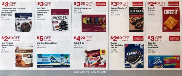 April 2018 Costco Coupon Book Page 14