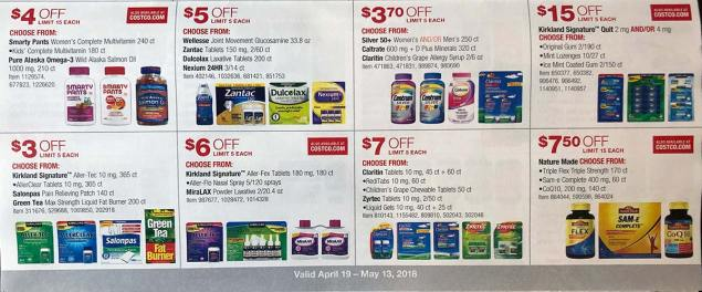 April 2018 Costco Coupon Book Page 18