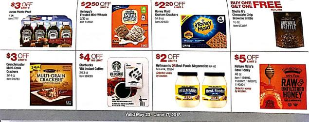 Costco Coupons May 2018 Page 15