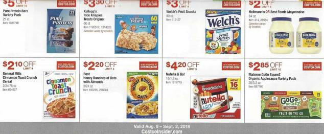 Costco August 2018 Coupon Book Page 15
