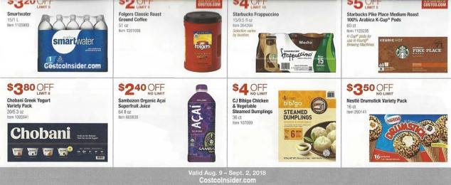 Costco August 2018 Coupon Book Page 17