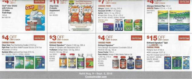 Costco August 2018 Coupon Book Page 21