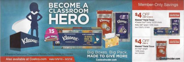 Costco August 2018 Coupon Book Page 25