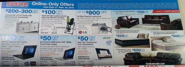 Costco September 2018 Coupon Book Page 12