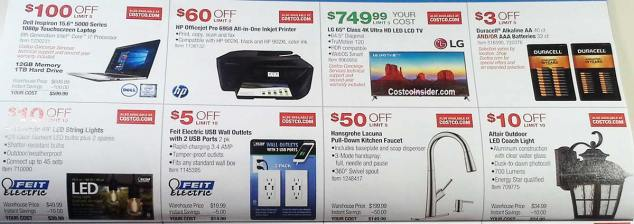 Costco September 2018 Coupon Book Page 14