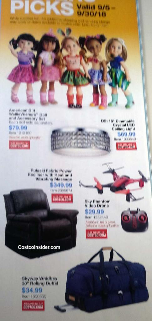 Costco September 2018 Coupon Book Page 3