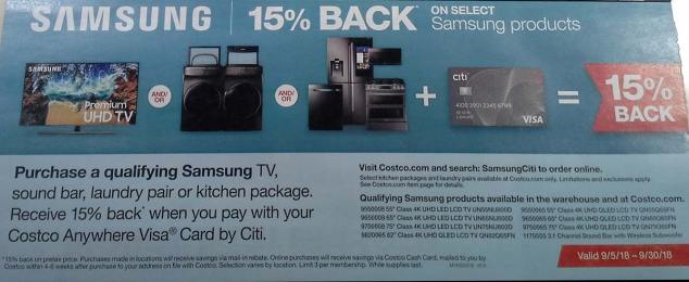 Costco September 2018 Coupon Book Page 7