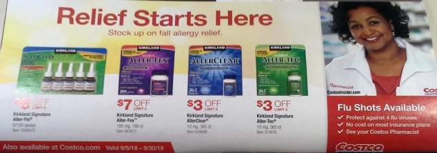 Costco September 2018 Coupon Book Page 8