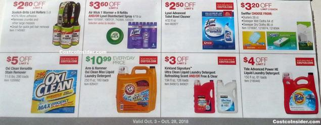 Costco October 2018 Coupon Book Page 16