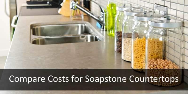 compare soapstone countertop costs
