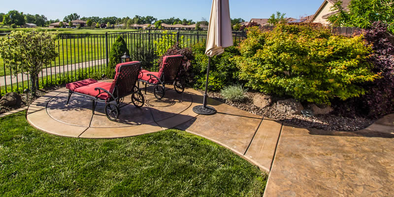 cost of a stamped concrete patio 2021