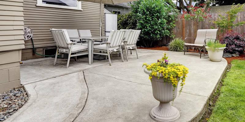 cost to build a concrete patio 2021