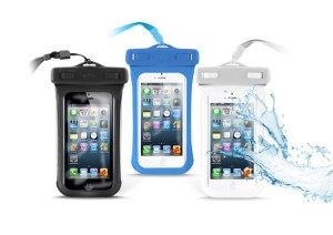 Custodie universali impermeabili per smartphone