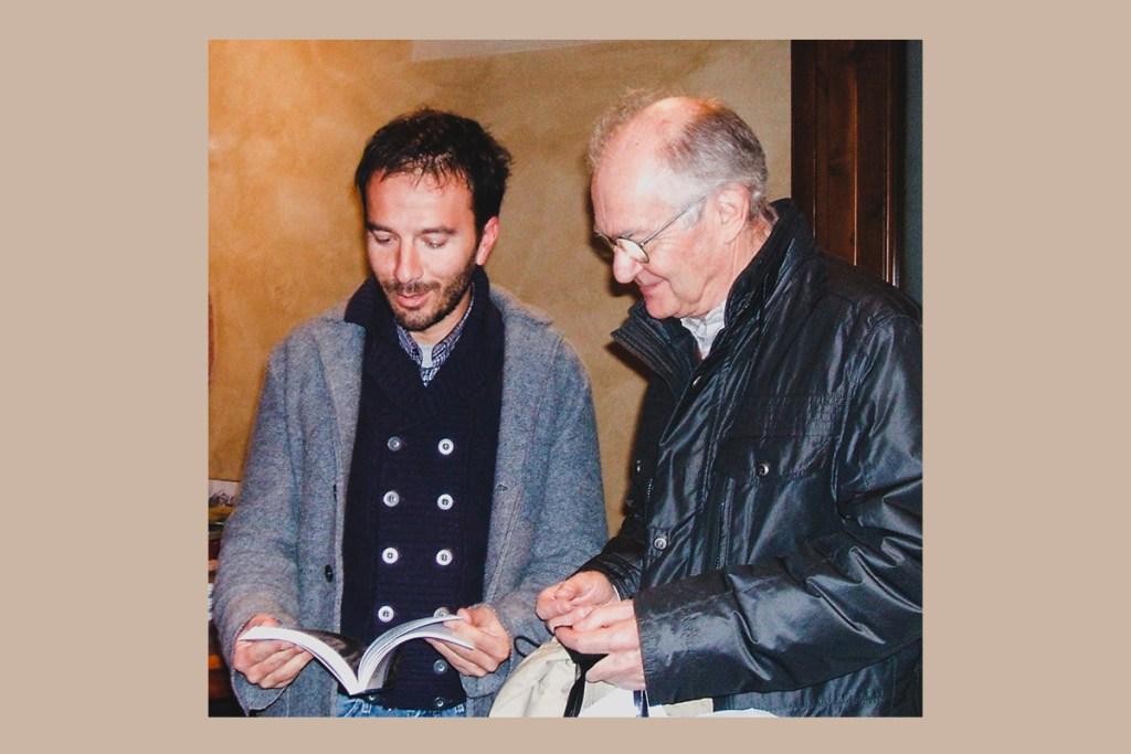 Con Luigi Lineri