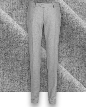 Pantalon Gris Clair Flanelle pantalon hiver