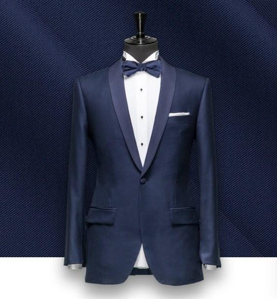 smoking tuxedo sur mesure paris, costume privé col chale