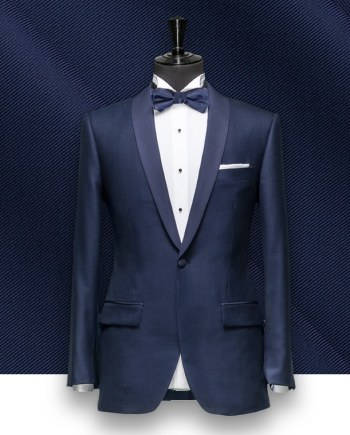 smoking tuxedo sur mesure paris, costume privé col chale