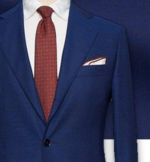 Costume Bleu intense faux-uni tailleur paris