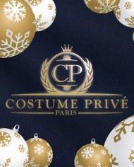 Costume Bleu natté CP logo