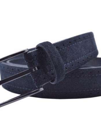 ceinture en daim bleu 1