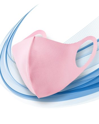 masque rose filtrant
