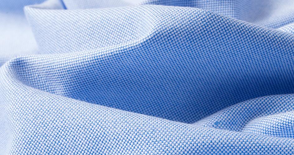 Choisir tissu chemise Oxford sur mesure