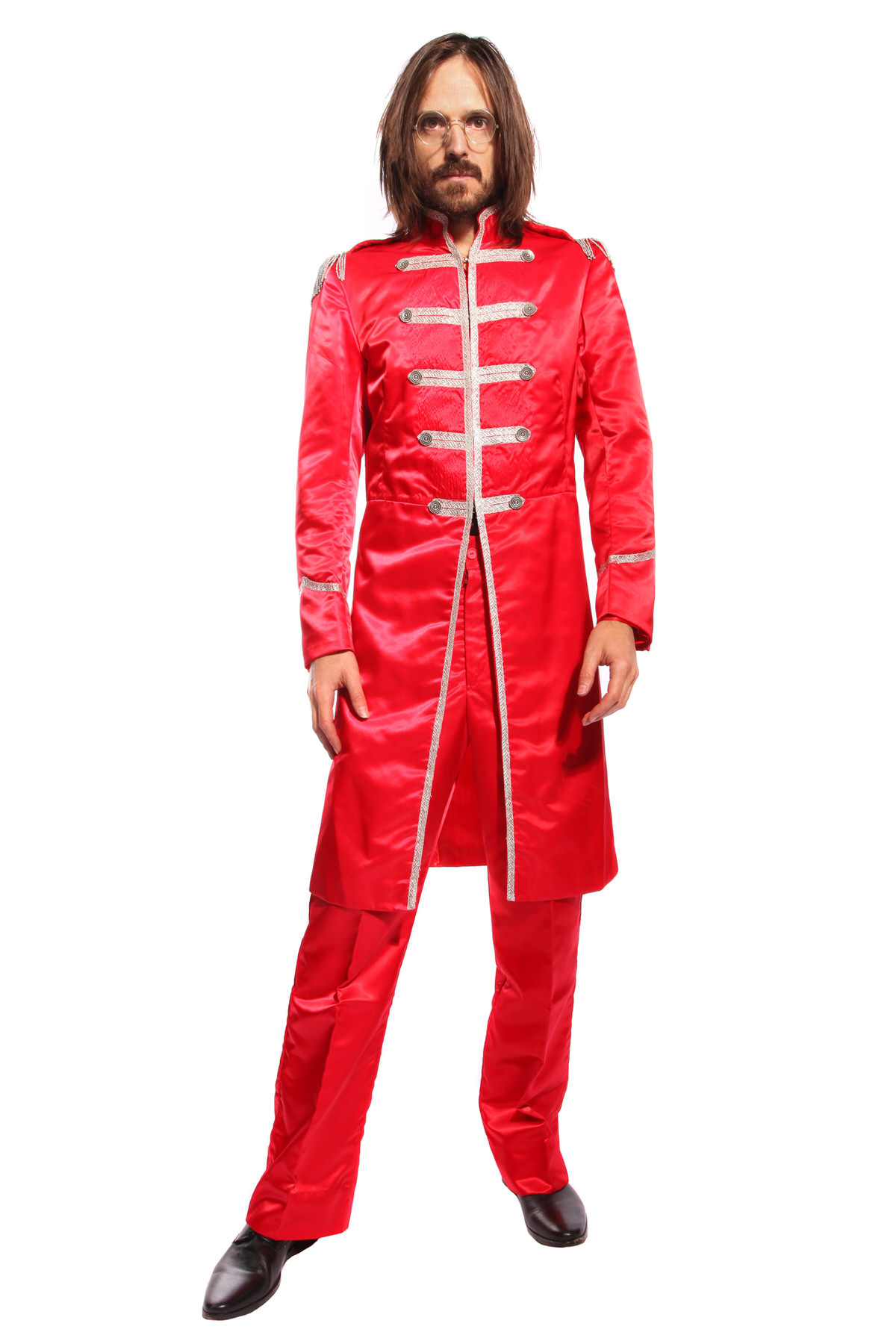 RED SERGEANT PEPPER COSTUME W JACKET & TROUSERS