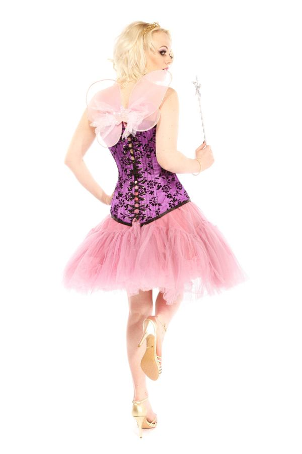 PURPLE AND PINK FAIRY COSTUME B