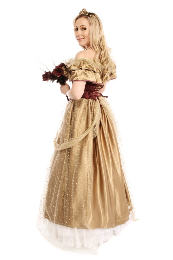 GOLDEN PRINCESS COSTUME B