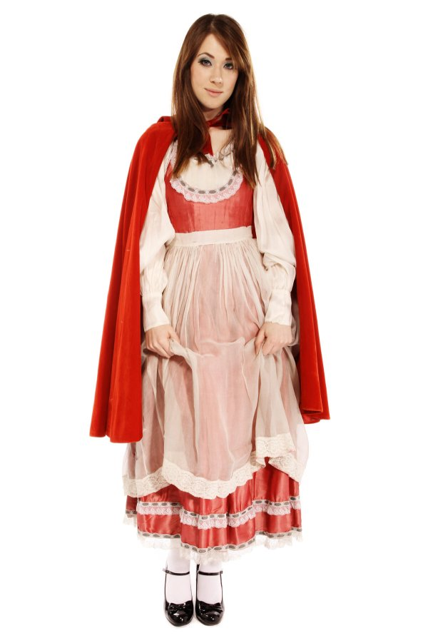 LITTLE RED RIDING HOOD COSTUME B