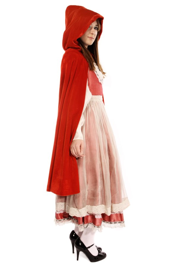 LITTLE RED RIDING HOOD COSTUME C
