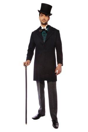 VICTORIAN GENT BLACK COSTUME