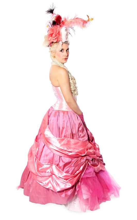 MARIE ANTOINETTE PINK TULLE SKIRT COSTUME