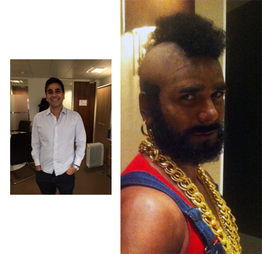STYLE AND BUY TO HIRE: MR T COSTUME
