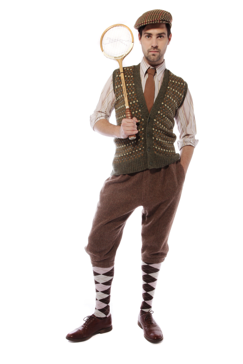 1920s GENT TWEED SPORTING COSTUME W PLUS FOURS