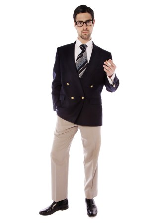 70s BLAZER AND FLANNEL TROUSERS FILM STAR COSTUME