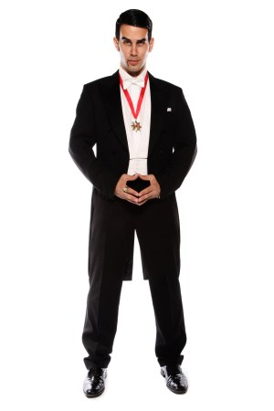 DELUXE HIGH QUALITY DRACULA COSTUME