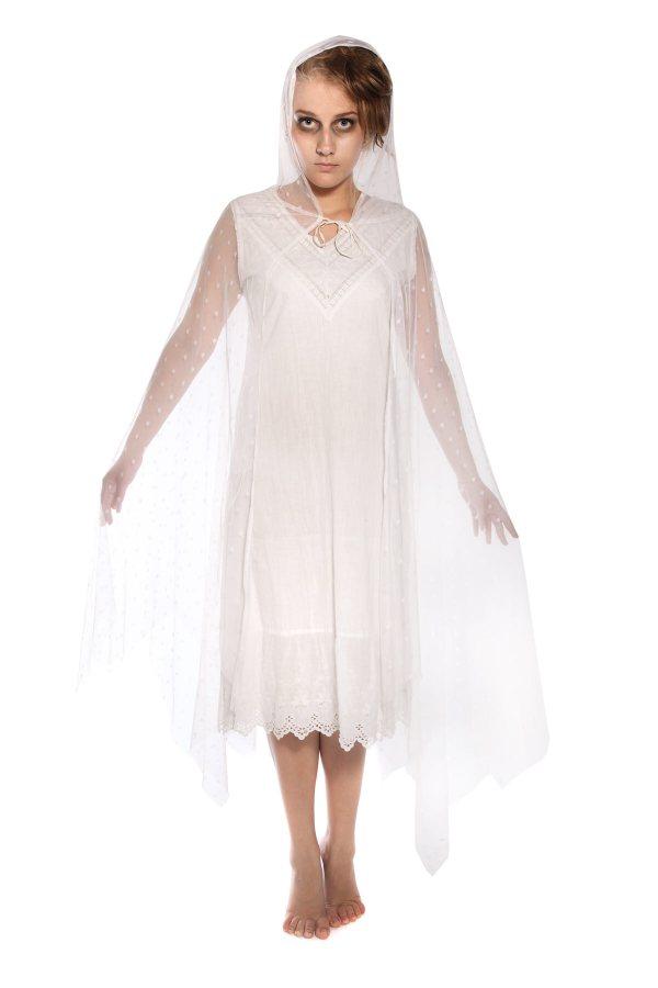 GHOST GIRL VICTORIAN NIGHTDRESS COSTUME