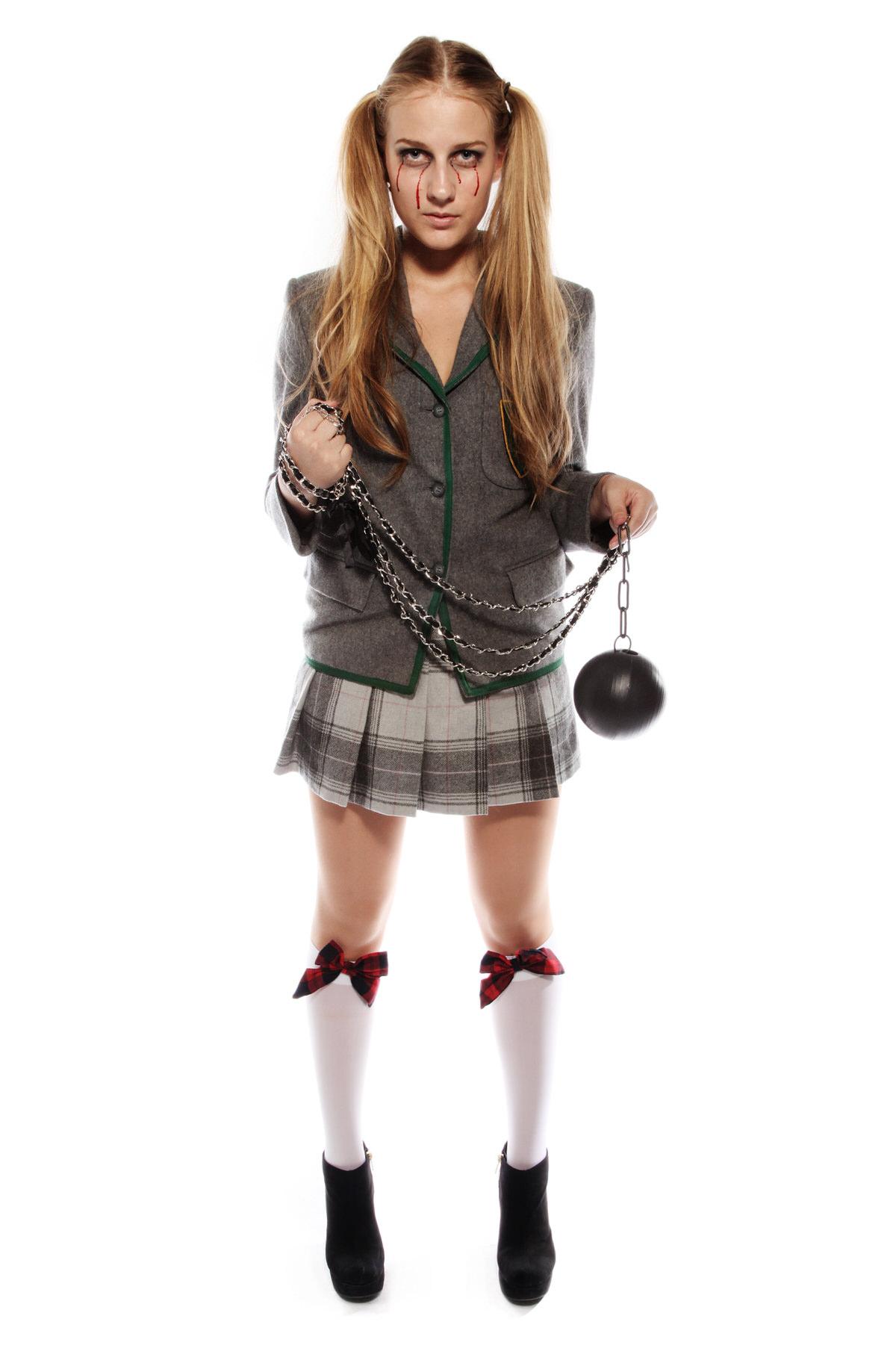 KILL BILL GO GO SCHOOL UNIFORM COSTUME