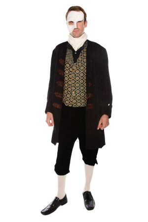 PHANTOM OF THE OPERA STYLE LUXURIOUS COSTUME